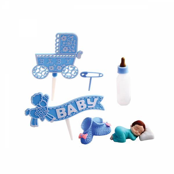 Bebek Set Mavi