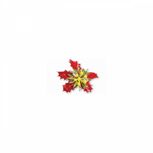 Sedefli Kırmızı Çiçek