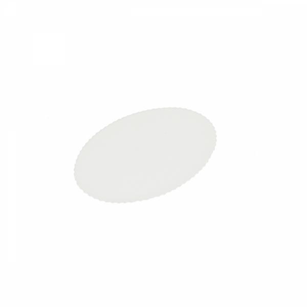 Elips Pasta Yazı Plakası