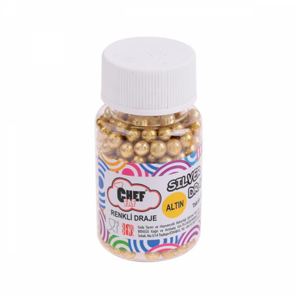 Renkli Draje Altın - 50 gr