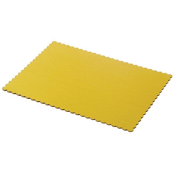 Gold Dikdörtgen Altlık Kalın 17x31cm